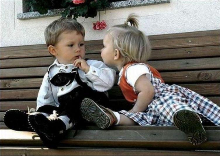Прикольные картинки мальчик и девочка, обида боль