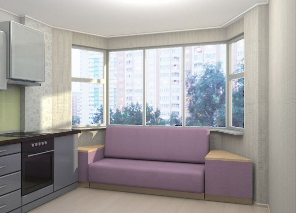 кухонный диван для кухни со спальным местом, фото 40