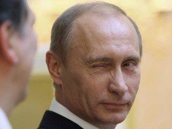 Последними Путина поздравили эстонцы