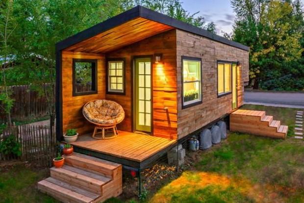 Маленькие домики, в которых …