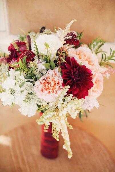Яркие свадебные букеты. Для вдохновения.