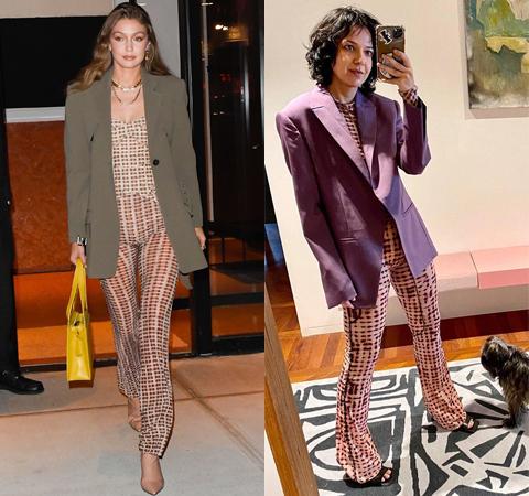 Модная битва: Джиджи Хадид против Ксении Чилингаровой