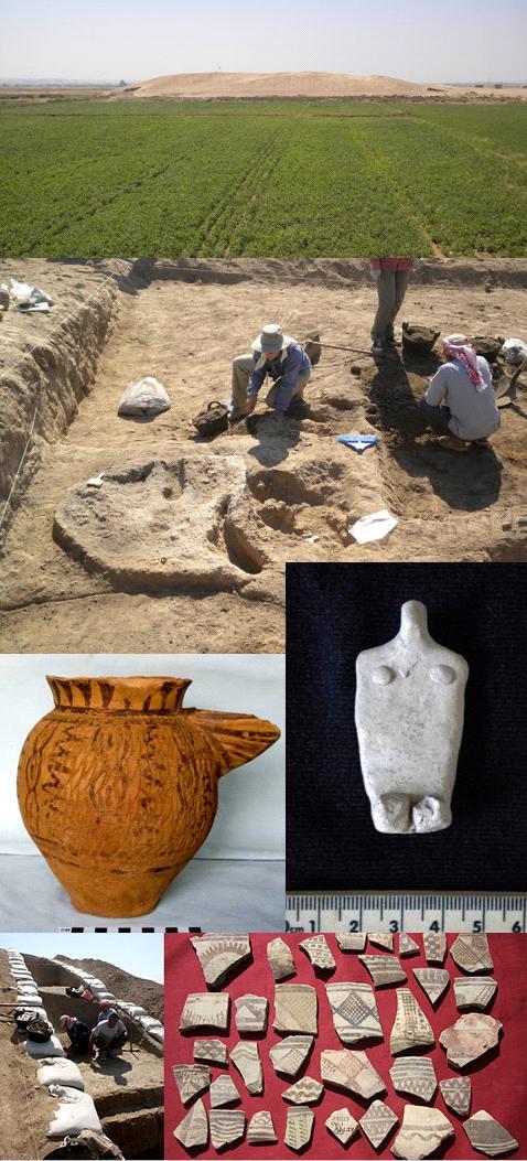 Древнейшая на земле историческая (обнаруженная и идентифицированная археологически) градостроительная цивилизация Эль-Убейд