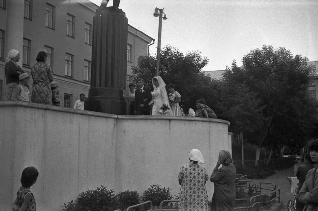 Свадьба у Лисиных. Август 1981 года.