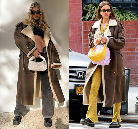 Модная битва: Эльза Хоск против Ирины Шейк
