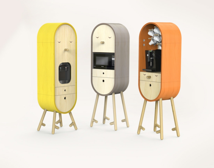 Эта кухонная мебель создана, чтобы делать людей счастливыми