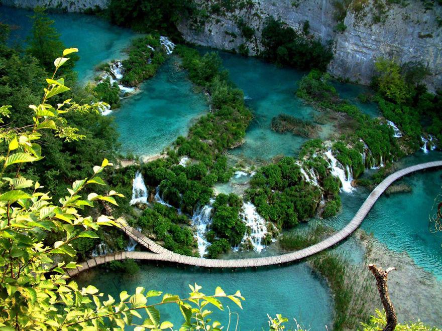 6. Озеро Плитвице, Хорватия красота, пейзажи, природа