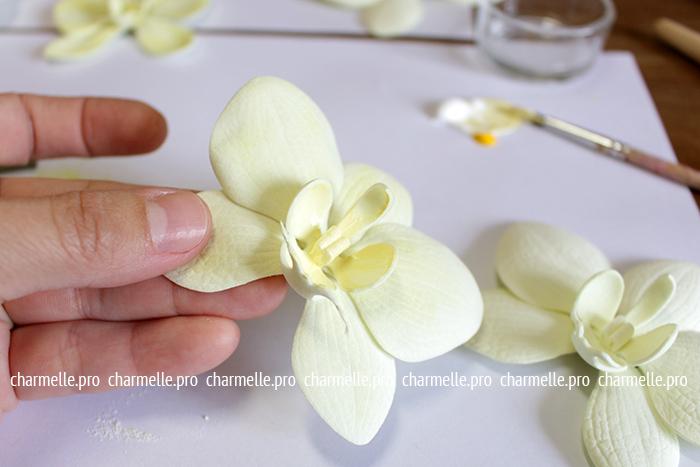 мастер класс по фоамирану орхидея