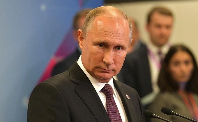 Ответы на вопросы российских журналистов - Итоги прошедшей недели.