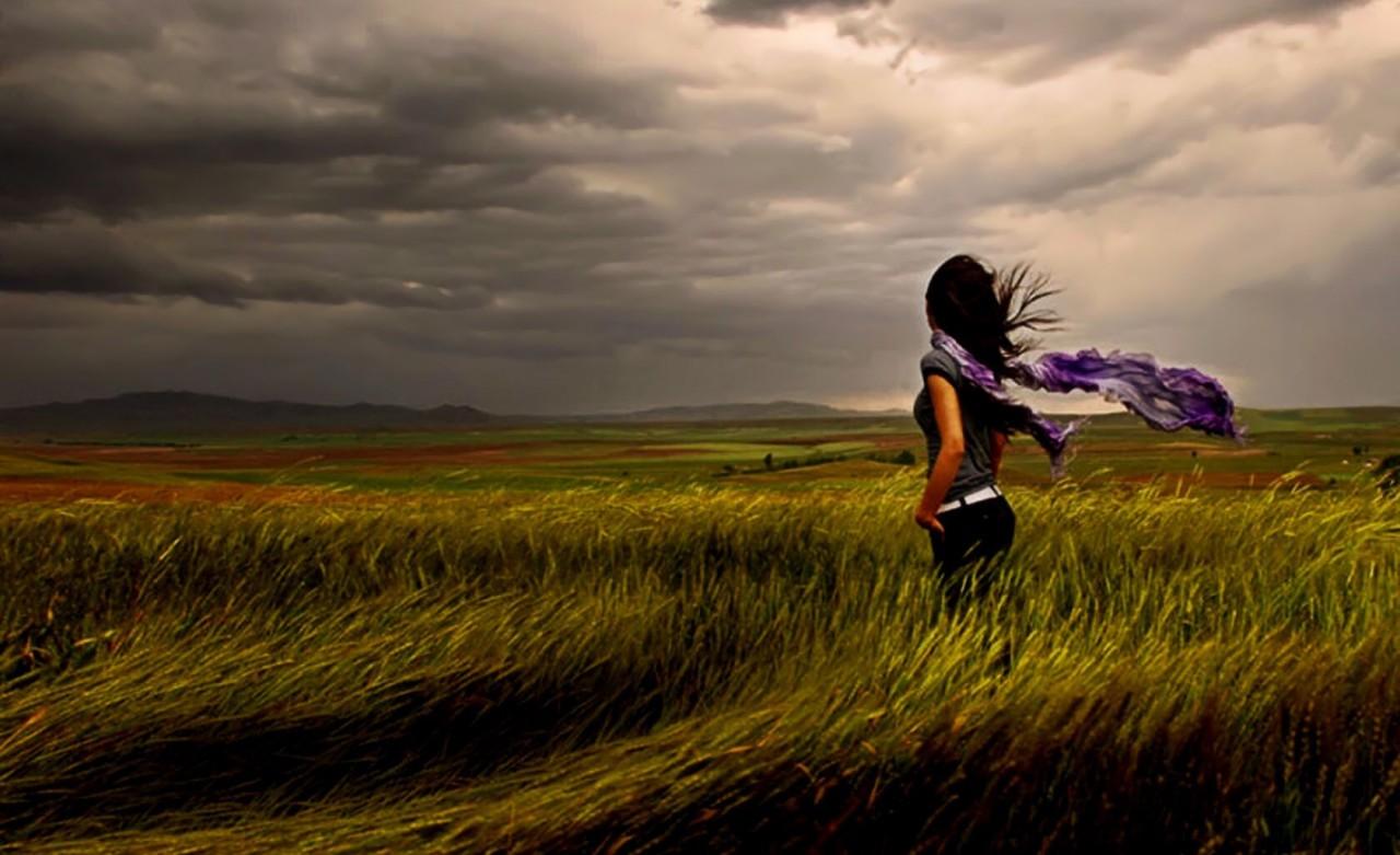 сильный приворот девушки на ветер
