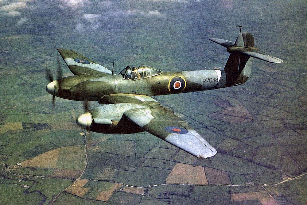Авиация союзников в цвете. ( 60 фото )