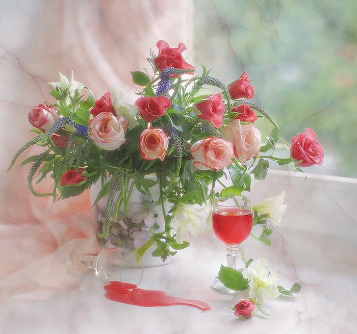 Цветы и нежность, Мария Бахарева