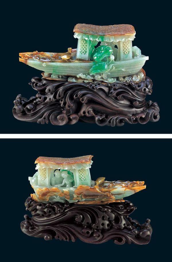 Китайская резьба по камню.