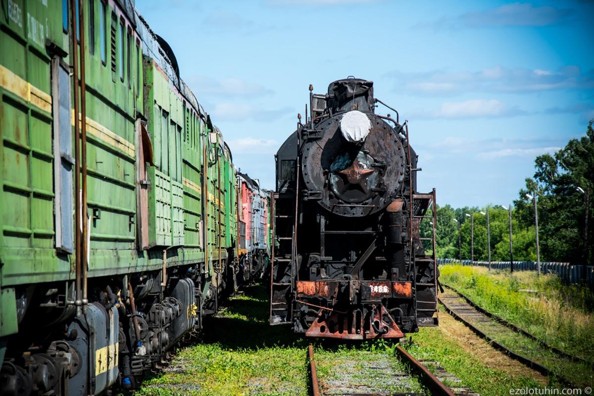 Тайная жизнь паровозов в сибирской глубинке