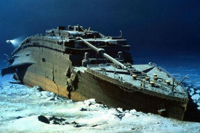 Как будет выглядеть подъем Титаника видео