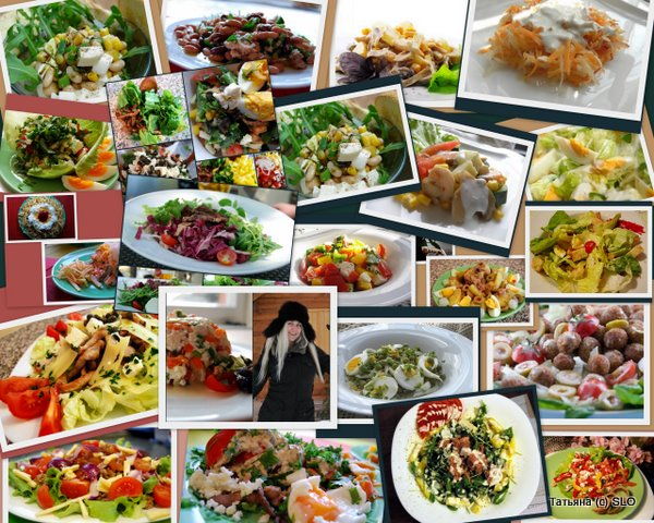 Фото-отчет части моих рецептов для сайта за 2011г.