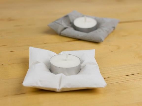 Свечи на подушках. МК