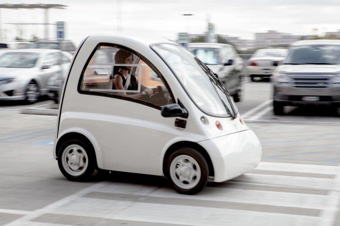 Электро-кар для людей с ограниченными возможностями