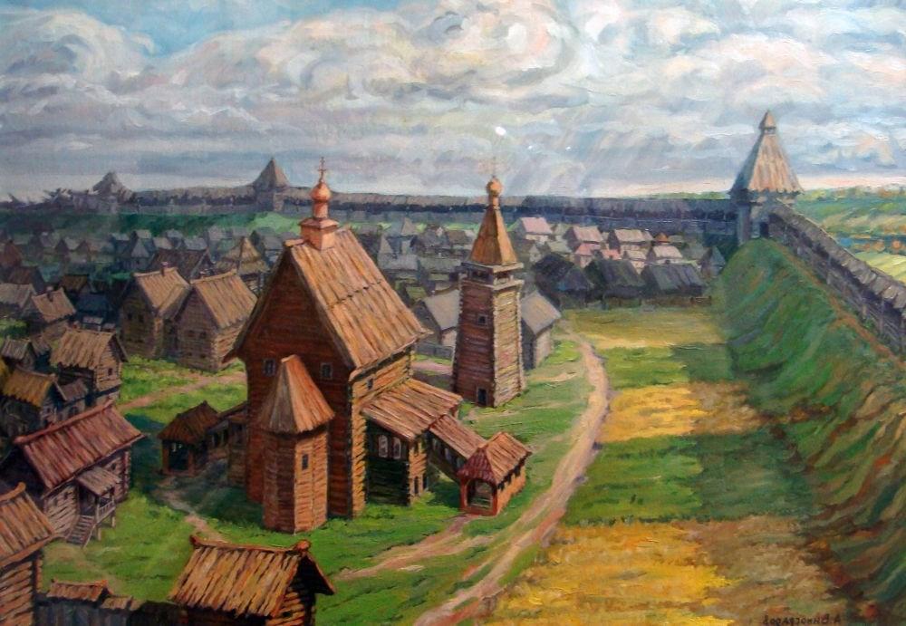 Картинка древний русский город