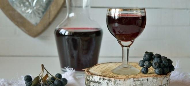 Вино из яблок и черноплодной рябины