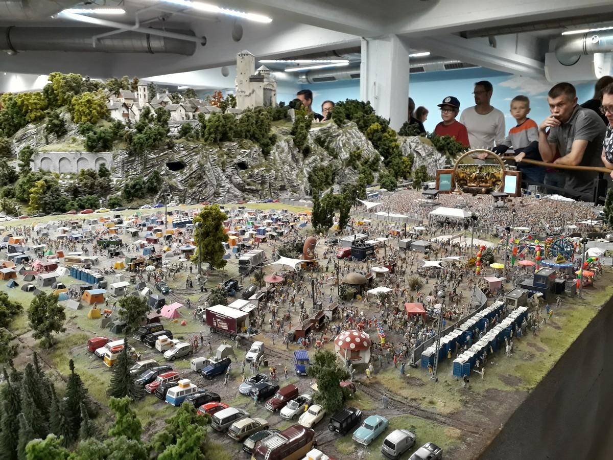 Музей маленьких чудес — Miniatur  Wunderland  в Гамбурге