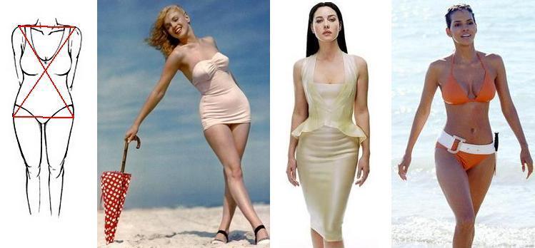 Фигура Песочные Часы Фото Как Похудеть. Как похудеть с типом фигуры «песочные часы»?