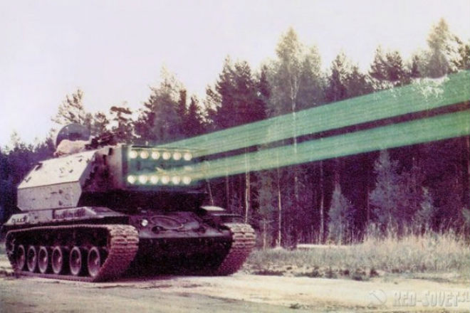 Советский лазерный танк