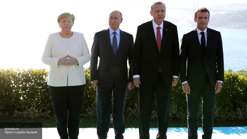 """""""Проведена серьезная работа"""": Путин рассказал, как прошел Сирийский саммит в Стамбуле"""