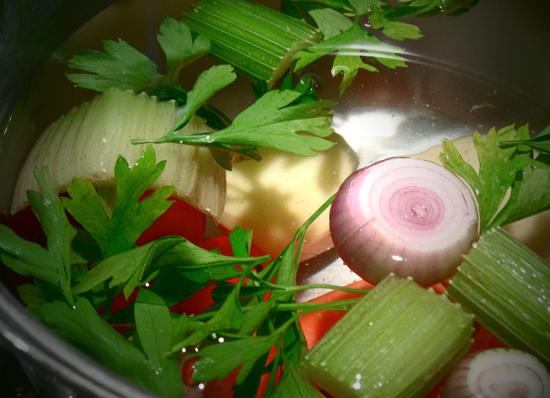 Как варить овощной бульон