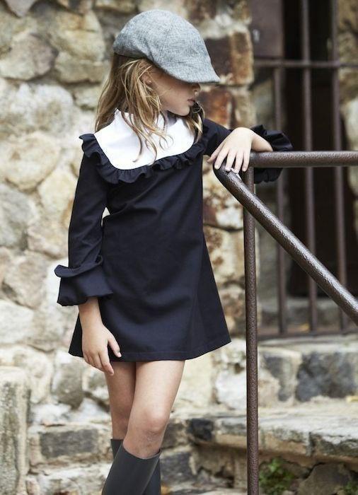 Строгое детское платье (подборка)