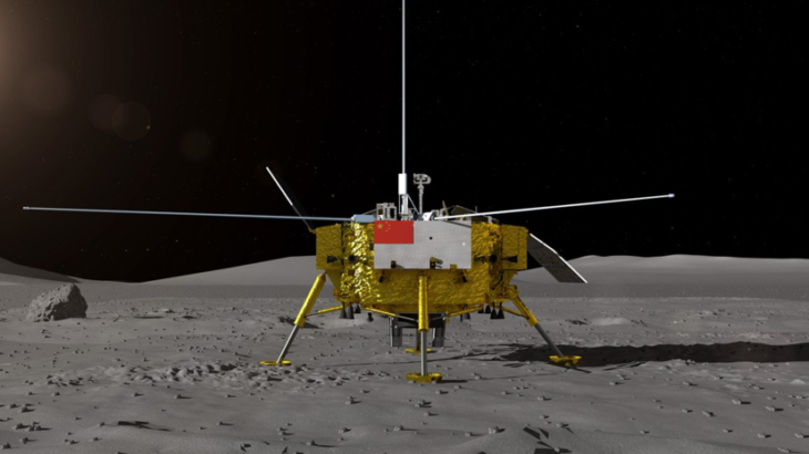 В Китае представили аппарат для изучения обратной стороны Луны