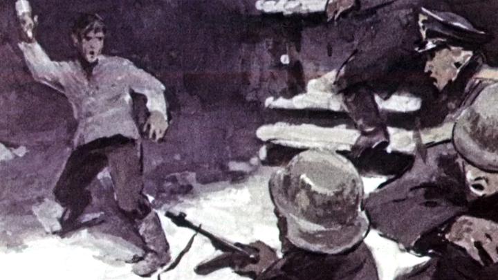 Саша Чекалин. Как русский парень заставил немцев содрогнуться история