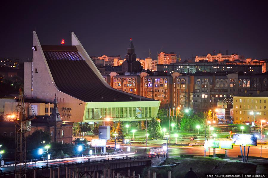 ночной город омск картинки правда