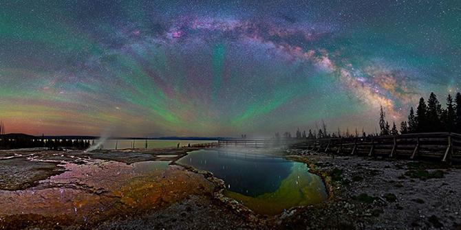 От этих фотографий Млечного Пути просто дыхание перехватывает