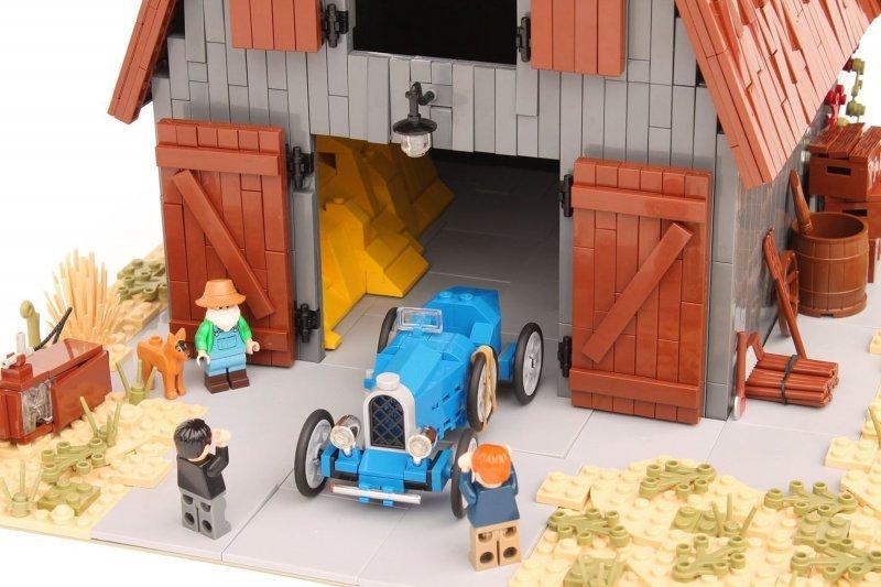 Коллекционный Bugatti, найде…