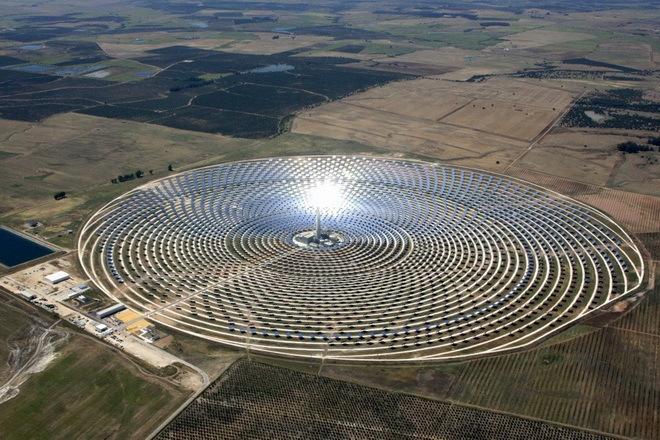 Солнечная электростанция Гем…
