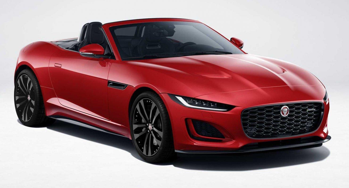 Jaguar F-Type получил тюнинг-пакет R-Dynamic Автомобили