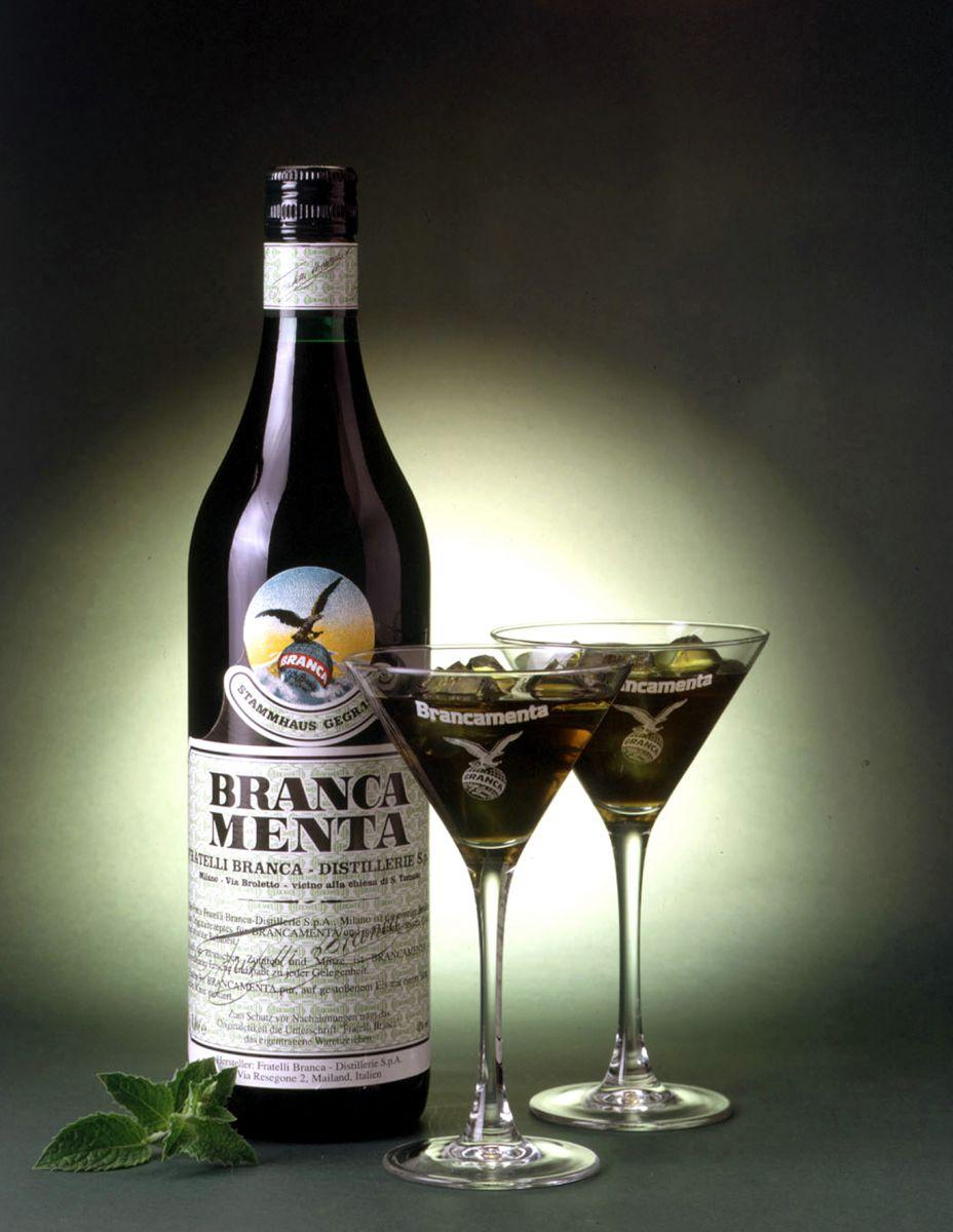 Спиртные напитки.  Ликер Branca (Бранка)