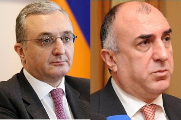 Встреча глав МИД Армении и А…
