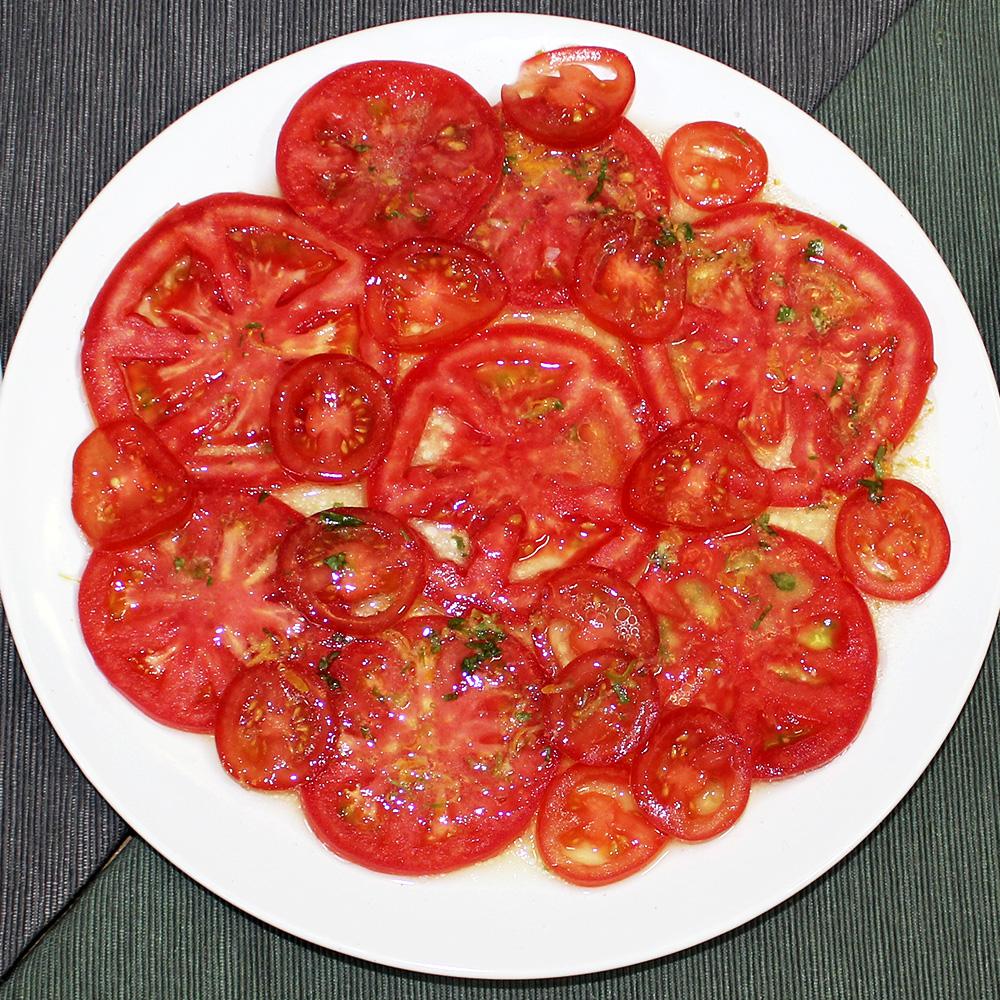Овощное карпаччо