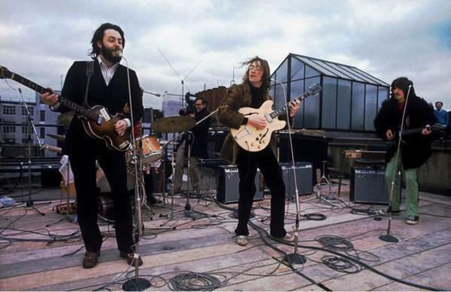 Последний концерт Битлз на лондонской крыше, 1969 год