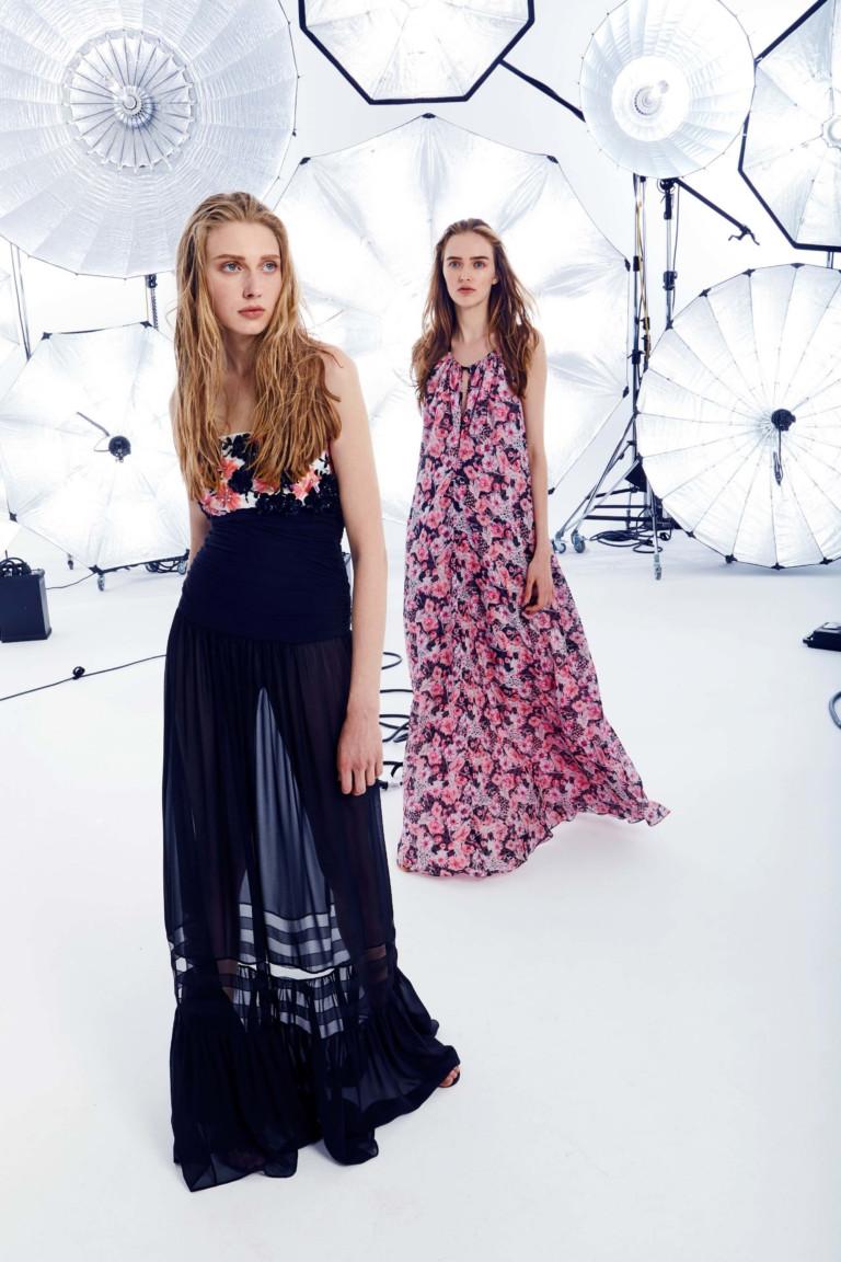 Женственная коллекция Emanuel Ungaro весна-лето  2018