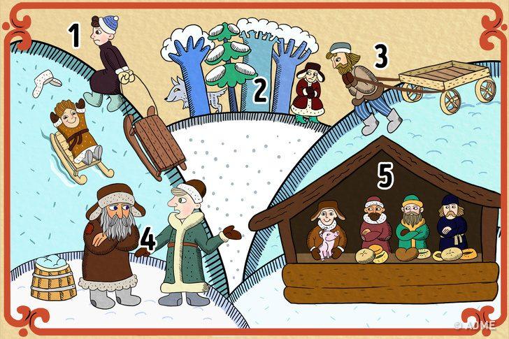 Весёлый тест на знание русских пословиц и поговорок