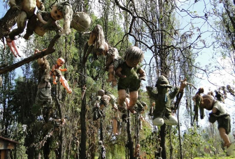 2. Остров заброшенных кукол, Мексика интересное, история, поучительное, факты