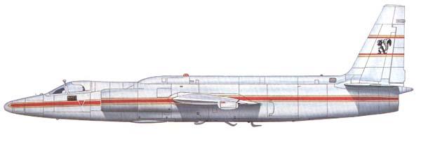 U-2D AF Flight Test Center Edwards AFB