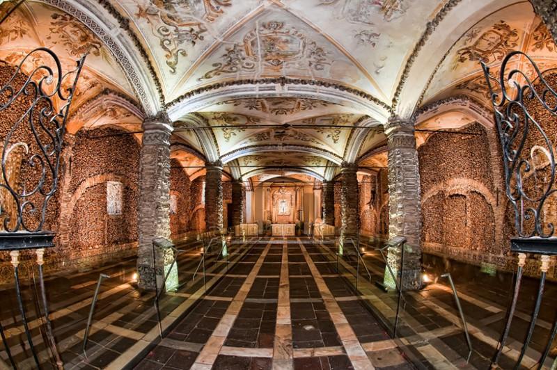 4. Часовня костей, Португалия интересное, история, поучительное, факты