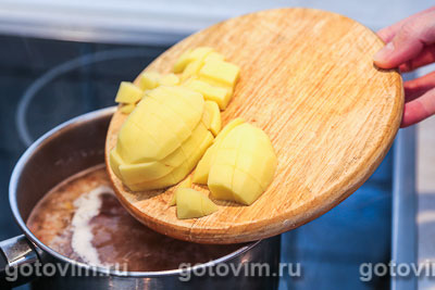 Польский суп журек , Шаг 04