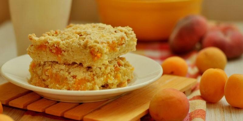 Абрикосовый пирог со сметанной заливкой: рецепты выпечки рецепты,сладкая выпечка