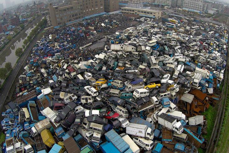 Китайские автосвалки