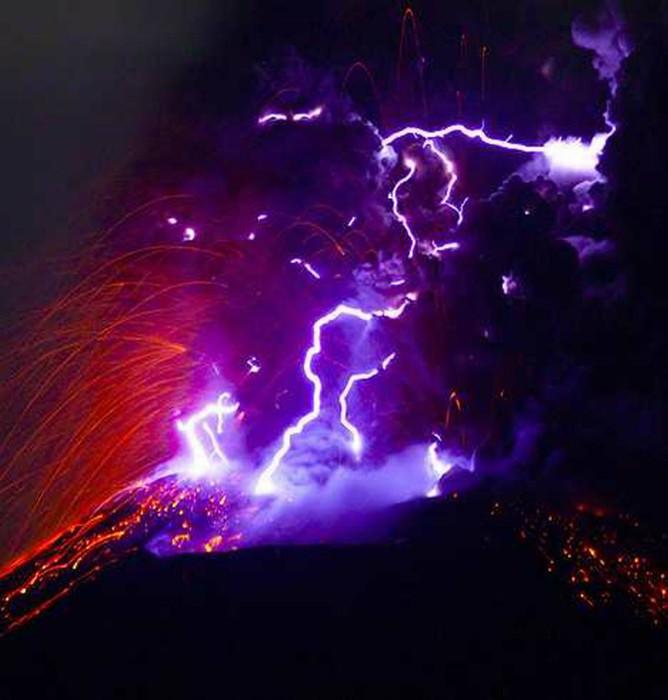 4. Извержение вулкана Феномены, природа